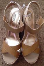 Kenneth Cole Sequin Embellished Platform Wedge Espadrille Sandals- 9.5M-MSRP $90