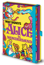 DISNEY ALICE IN WONDERLAND A5 HARDCOVER PREMIUM NOTEBOOK NEW UNLINED OFFICIAL