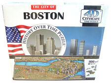 4D Cityscape Time Puzzle Boston