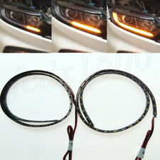 "23"" LED Universal Car Turn Signal Strip Dynamic Indicator Light Error Free 2pcs"