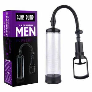 Penis Pump System Male Enhancer Extender Vacuum Enlarger Bigger Growth AID Help