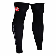 Black Cycling Arm and Leg Warmers
