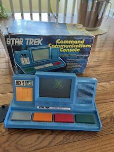 1976 Mego Star Trek Command Communication Console