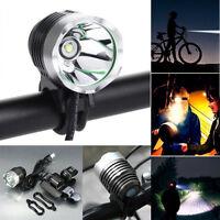 3000 Lumen 3 Mode Cree XML T6 USB LED Headlamp Bike Bicycle Light Headlight