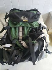 "GREGORY REALITY GREEN, BLACK, GREY HIKING PACK ~23X15"" WITH FRAME LIGHTWEIGHT"