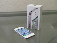 NEW APPLE iPHONE 4S 8GB AT&T LOCKED WHITE SMARTPHONE