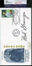 Red Grange Jsa Coa Autograph Knute Rockne Fdc Hand Signed Authentic