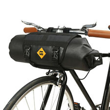 Waterproof Bike Bicycle Handlebar Bag Front Pannier Frame Tube Cycling Pouch 12L