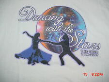 2006-2007-Tour-Dance Danicing With The Stars-USA-TV Show-White T Shirt-M
