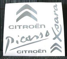 Kit 5 adesivi CITROEN decal sticker psa xsara picasso