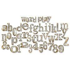 Sizzix Bigz XL Alphabet Die By Tim Holtz - 209908