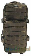MOCHILA ASALTO backpack CAMO 30 lt 45x25x20cm COMPARTIMENTO HIDROBAG 30333E MF2