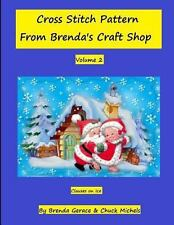 Cross Stitch Patern from Brenda's Craft Shop : Clauses on Ice (2013, Paperback)