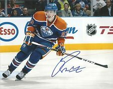 RYAN NUGENT HOPKINS 'EDMONTON OILERS' SIGNED 8X10 PICTURE *COA