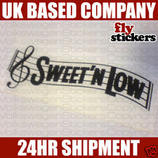 Sweet n Low Sticker / Decal VW GTi TDi VR6 R32 G40