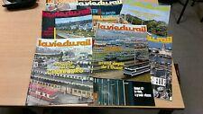 lot 8 magazines vie du rail années 80 special OUEST   et BRETAGNE port offert