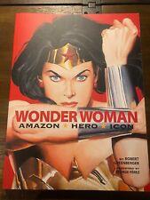 Wonder Woman: Amazon. Hero. Icon. Giant Size!  - 2010 -First Print! DC Comics