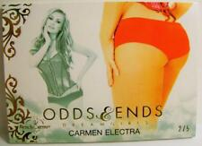 CARMEN ELECTRA ODDS & AND ENDS DREAMGIRLS PLAYBOY 2/5 BENCH WARMER 2017