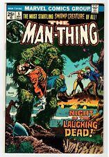 Marvel - THE MAN-THING #5 - Ploog Cover & Art - FN 1974 Vintage Comic