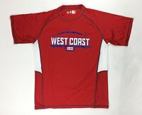 Alleson Athletic West Coast 2013 Training Football Shirt Men's Large Red