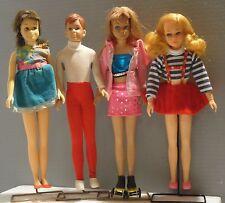 Vintage Mattel Barbie Sister Skipper Ricky Skooter Live Action Living Doll Lot