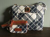 Dooney and Bourke NWT coated cotton crossbody   Women's fashion accessory Purse