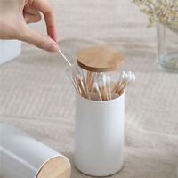 Automatic Cotton Swab Toothpick Holder Storage Organizer Box Home Decor MA