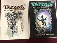 TARZAN THE LOST ADVENTURE 1 & 2 TPB High Grade