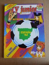 TV JUNIOR n°24  1982 Galaxy 1999 Astroboy ed. ERI RAI  [G419A]*