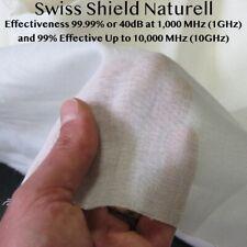 Radio Frequency Shielding Fabric RF Blocking Fabric Swiss Shield Naturell