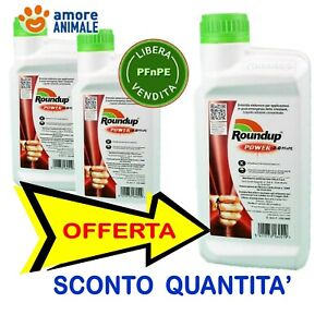 Monsanto Roundup Power 2.0  500 Ml - Glifosate Sistemico - Diserbante totale