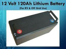 12 Volt 120 Ah Deep Cycle Multi-Purpose Lithium LiFeP04 Battery