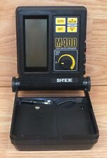 **FOR PARTS** Genuine Si-Tex (M400) LCD Depth Sounder Box Only **READ**