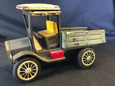 Old Vtg Litho Tin  Early Pickup Truck Model T Toy State Body Style