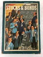 Vintage 3M Stocks & Bonds Bookshelf Board Game 1964 Stock Market Teaching Tool