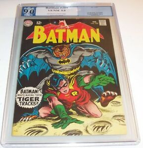 Batman #209 - DC 1969 Silver Age Issue - PGX VF/NM 9.0 - Mister Esper story