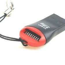LETTORE adattatore USB 2.0 Mini Memory Card Reader SCHEDA Micro SD M2 TF T-Flash