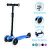 Kick Scooter for Kids with 3 Light Up Wheels Adjustable Height for Boys Girls
