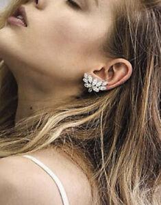 New Samantha Wills All I See Bridal Cuff Earrings