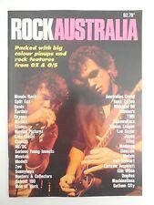 ROCK  AUSTRALIA  MAGAZINE - 1980's....COUNTDOWN ... AC / DC, COLD CHISEL, DRAGON
