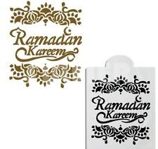Ramadan Kareem Cake Stencil Coffee decorating Fondant Biscuits Festive
