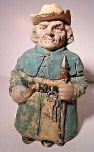 Antique Figural Tobacco Jar, Johann Maresch (JM) 8672