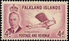 Falkland Islands 1952 4d Reddish Purple   SG.177  Mint (Hinged)  Cat:£13