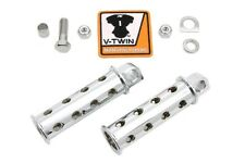Chrome Combat Shooter Style Footpeg Set Fits: All models with female mounting