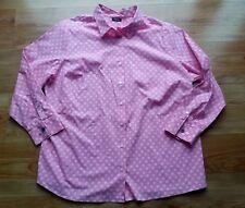 DAMEN WALBUSCH Bluse Gr 50 Pink Weiss Business Freizeit Top Zustand