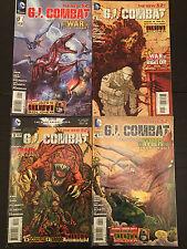 GI Combat Comic Bundle - Issues #01 #02, #03 & #04 - DC Comics