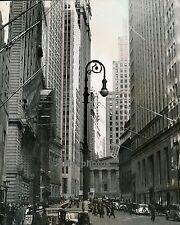 NEW YORK c. 1940 - Broad Street USA - Div 1865