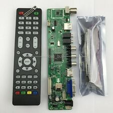 V56 Universal LCD TV Controller Driver Board PC/VGA/HDMI/USB Interface+7 key boa