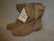 WELLCO Hot Weather Type II Combat Boots 14 Wide Desert Tan Panama Sole New