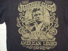 Johnny Cash Singer Sun Record Company American Legend Concert T Shirt Size XL